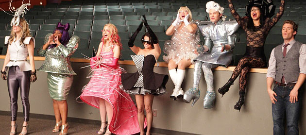 Pull a Glee and dress up in your favorite Gaga outfit and then bar hop!