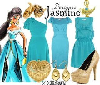 Disneybound has the best Disney inspired outfits!